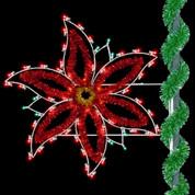 5' Holiday Poinsettia