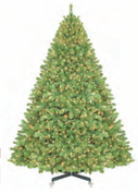 Pre-Lit Sequoia Full Tree with Stand – With or Without Instant Shape Branches