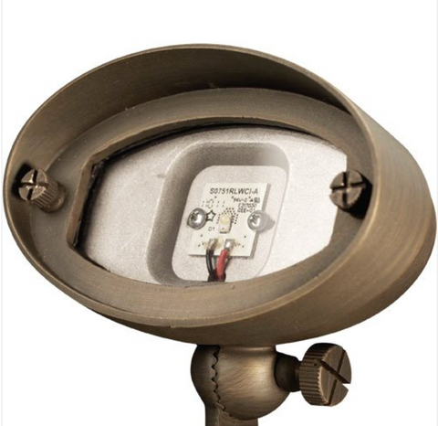 """Advantage Lightsource LED 2W E.T. Wall Wash/Flood Light (Integrated) ADV-LED-FL-113B-2W, these lights are used to highlight large trees, homes, walls, and hedge lines. They come with a stake mount but the base can be mounted on walls or other flat surfaces and adjusted appropriately. The bases can even be mounted on large trees to deliver the """"moon light"""" effect."""