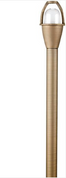 "Advantage Lightsource Brass/NBZ Path Light ADV-AP-00B-T3 (24""), great for lighting for sidewalks and walk ways, as well as lighting your flower beds for night time viewing."