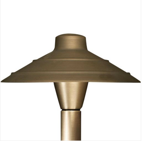 Advantage Lightsource Luna Classico Shade Path Light ADV-AP-01B, great for lighting for sidewalks and walk ways, as well as lighting your flower beds for night time viewing.
