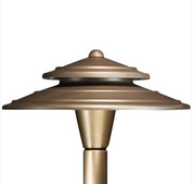 Advantage Lightsource Luna Perfecto Shade (Copper) Path Light ADV-AP-03C, great for lighting for sidewalks and walk ways, as well as lighting your flower beds for night time viewing.