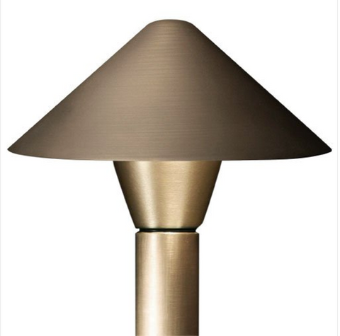 Advantage Lightsource Petite Flores Shade (Copper) Path Light ADV-AP-11C, Great for lighting for sidewalks and walk ways, as well as lighting your flower beds for night time viewing.
