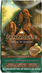 24lb Pinnacle Grain Free Dry Dog Food