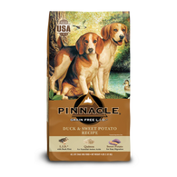 PINNACLE GRAIN FREE DUCK & SWEET POTATO DRY DOG FOOD