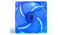 Deepcool Xfan 120L/B Transparent 120mm Cooling Fan with Blue LED