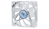 Deepcool Xfan 120L/W Transparent 120mm Cooling Fan with White LED