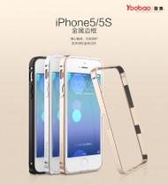 Yoobao Black Metal aluminum alloy bumper for iphone5/5s