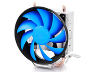 DEEPCOOL GAMMAXX200T Tower Type W/2 Heat Pipe W/ FAN 120MM Universal CPU (Blue)