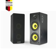 Thonet and Vander HOCH- 2.0 Wooden Bookshelf Bluetooth Speakers Black