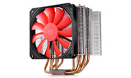 DEEPCOOL LUCIFER K2 TOWER TYPE HEATSINK W/6 HEAT PIPE, COPPER BASE, 120MM FAN