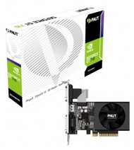 PALIT NVIDIA GT 710 2GB DDR3, 64 bit, Fan, CRT DVI,HDMI Graphic Card