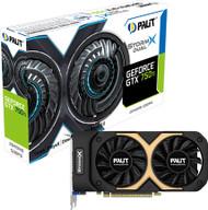 PALIT NVIDIA GTX 750Ti Storm X Dual 2GB GDDR5 128 bit , Dual Fan Graphic Card