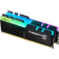 G.SKILL Trident Z RGB DDR4 2400Mhz 32GB (2 x 16GB) Desktop Memory with RGB LED (F4-2400C15D-32GTZR)