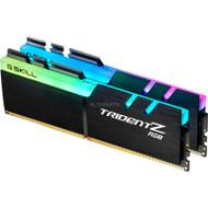 G.SKILL Trident Z RGB DDR4 3000Mhz 32GB (2 x 16GB) Desktop Memory with RGB LED (F4-3000C14D-32GTZR)
