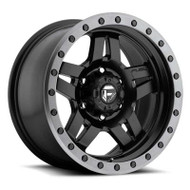 Fuel Off-Road Anza Wheel  - Matte Black w/ Anthracite Ring