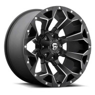 Fuel Off-Road Assault Wheel - Black & Milled