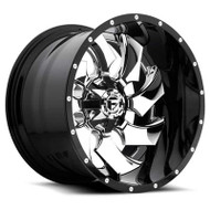 Fuel Off-Road Cleaver Wheel - Black & Chrome