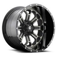 Fuel Off-Road Crush Wheel - Black & Machined