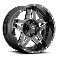 Fuel Off-Road Full Blown Wheel - Black & Milled