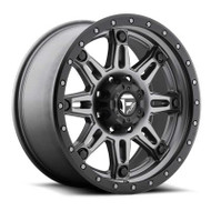 Fuel Off-Road Hostage III Wheel - Matte Anthracite w/ Black Ring