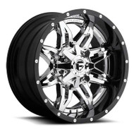 Fuel Off-Road Lethal Wheel - 2-Pc. Chrome