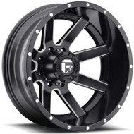 Fuel Off-Road Maverick Rear Dually Wheel - Black/Milled/Chrome