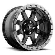 Fuel Off-Road Trophy Wheel - Matte Black w/ Anthracite Ring