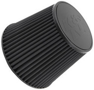 K&N RU-5177HBK Universal Clamp-On Air Filter