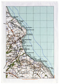 ROBIN HOOD'S BAY TEA TOWEL
