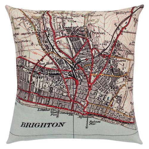 Brighton and Hove cushion