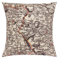 YORKSHIRE & LANCASHIRE CUSHION 1794