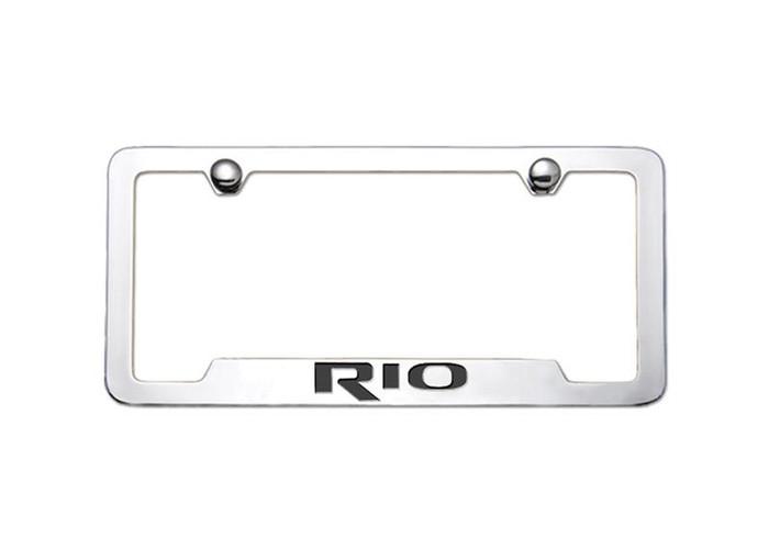 Kia Rio License Plate Frame (E009)