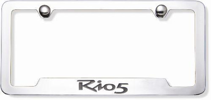 Kia Rio 5-Door License Plate Frame (E010)