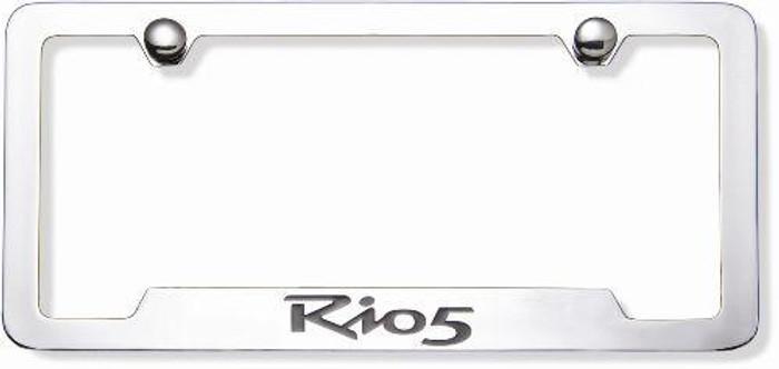 Kia Rio5 License Plate Frame