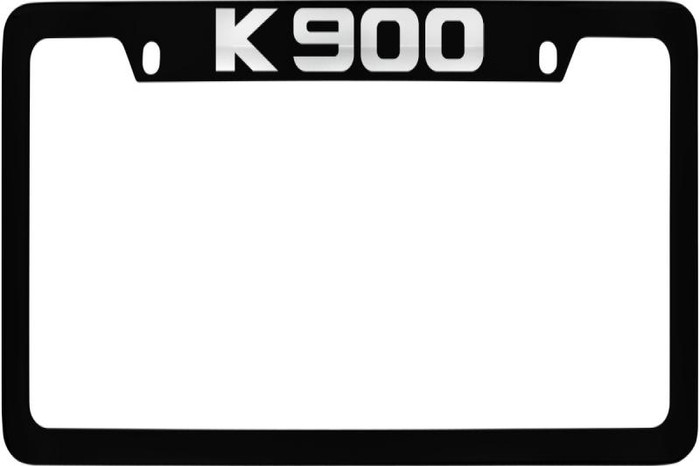 Kia K900 Upper Logo License Plate Frame (Y009)