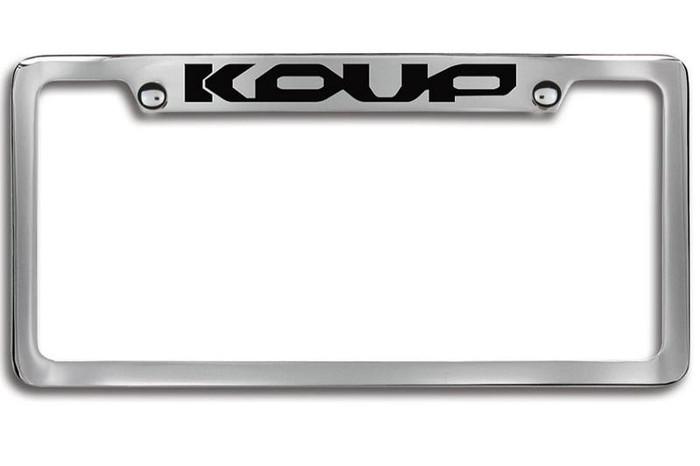 Kia Forte Koup Upper Logo License Plate Frame (C050)