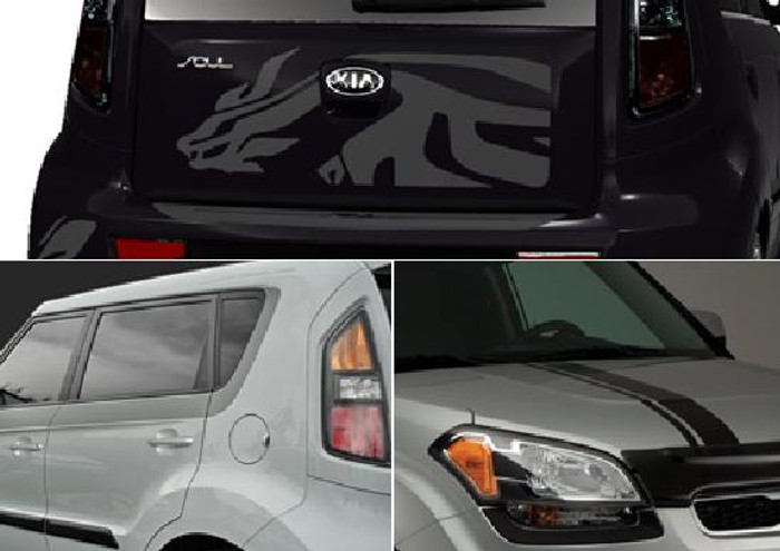 Kia Soul Body Graphics (G047)