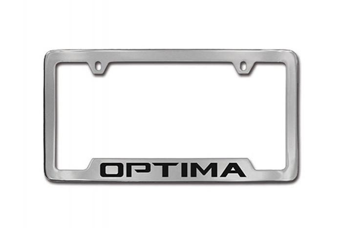 Kia Optima License Plate Frame