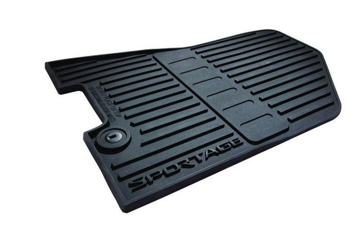 Kia Sportage Rubber Floor Mats (L104)