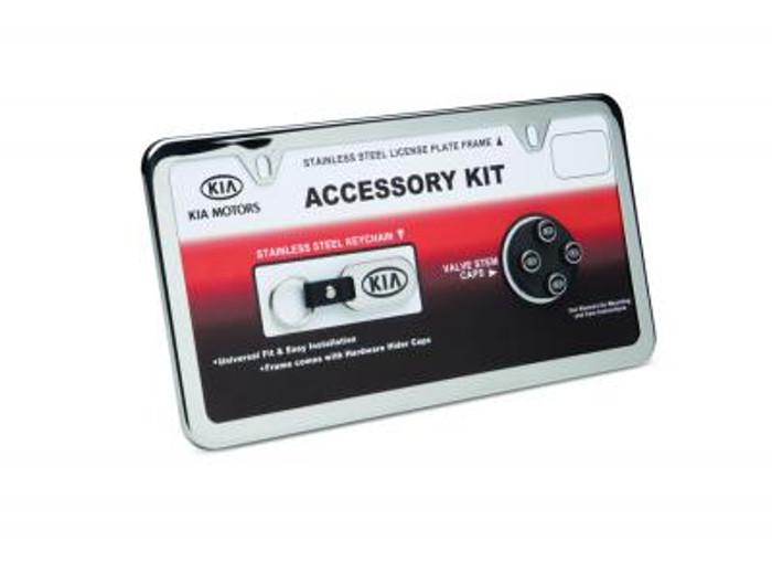 Kia License Plate Frame Kit