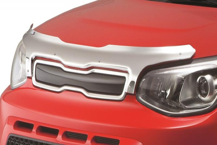 Kia Soul Chrome Bug Deflector (G108)
