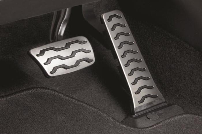 Kia Soul Steel Pedal Covers (G110)