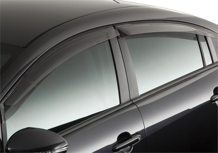 Kia Rio Rain Guards (E068)