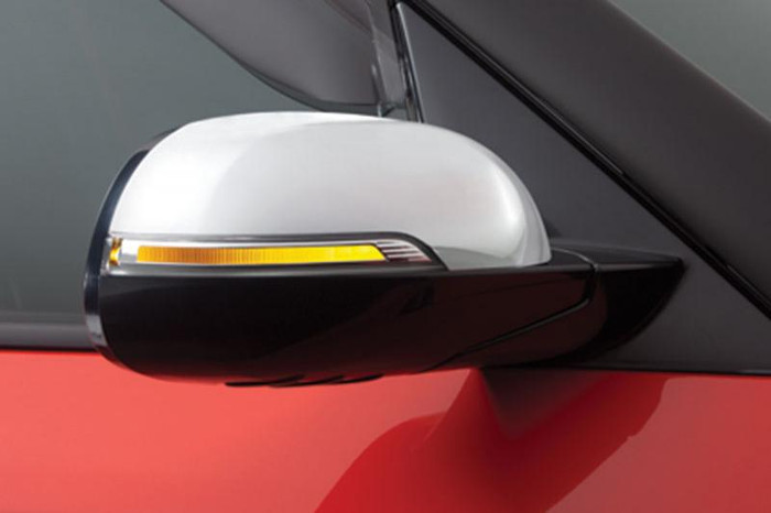 Kia Soul Chrome Mirror Covers (G099)