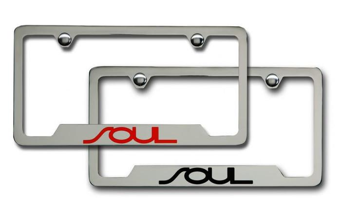 Kia Soul License Plate Frame (G019)