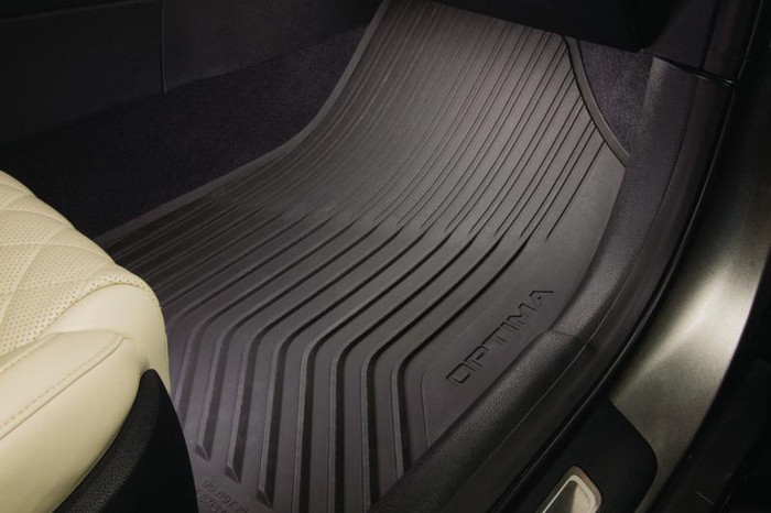 Kia Optima Rubber Floor Mats (D085)