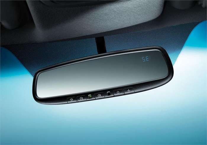 Kia Rio Auto Dimming Mirror