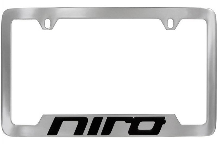 Kia Niro License Plate Frame - Lower Logo (M011)