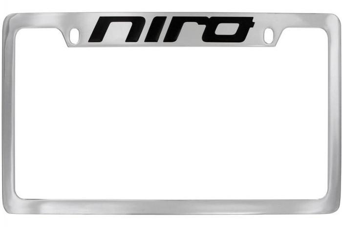 Kia Niro License Plate Frame - Upper Logo (M012)